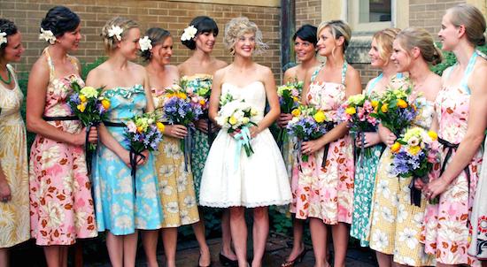 Inspiration robes de demoiselle d'honneur