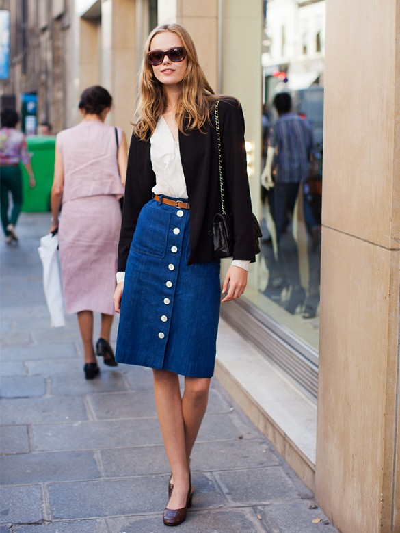 Inspiration Street Style la jupe