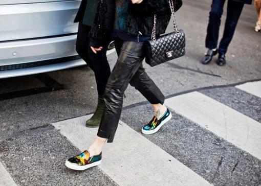 Les Slip-on : La paire de chaussures que tout le monde va porter ce printemps