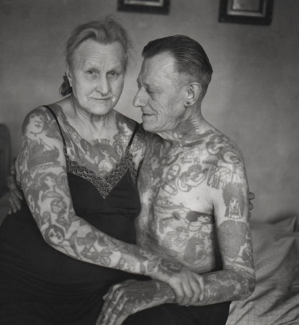 seniors tatoués