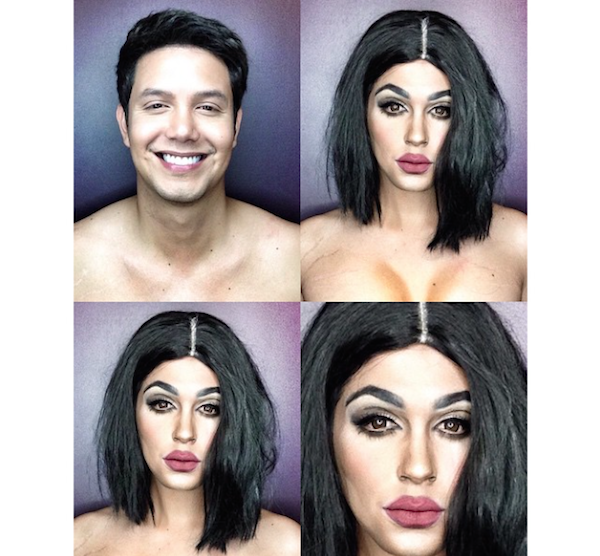 Makup transformation