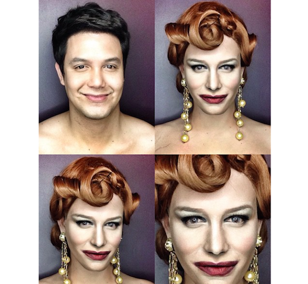 Makup transformation Paolo Ballesteros