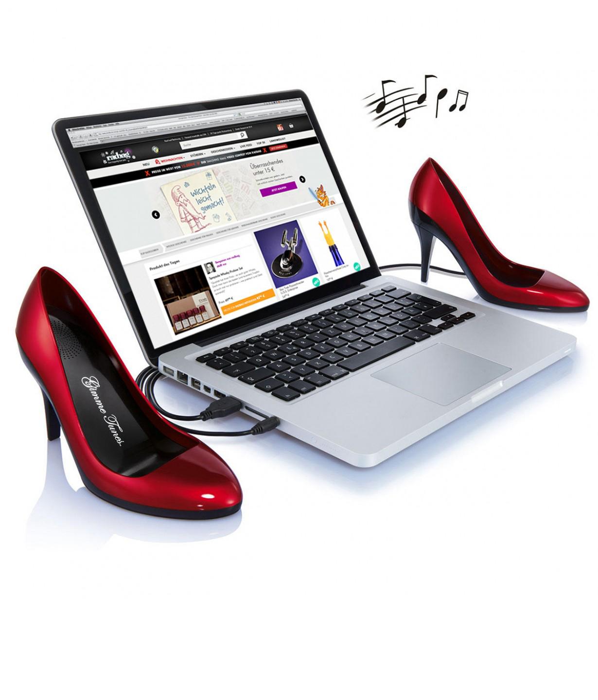 Haut parleurs escarpins USB