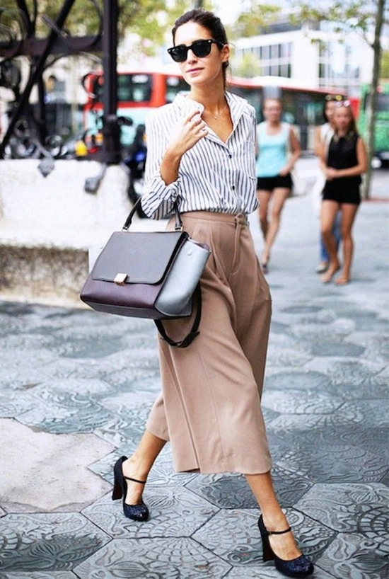 Inspiration Street style  jupe-culotte