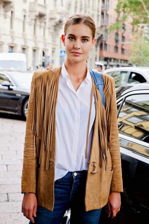 Inspiration street style vestes en daim