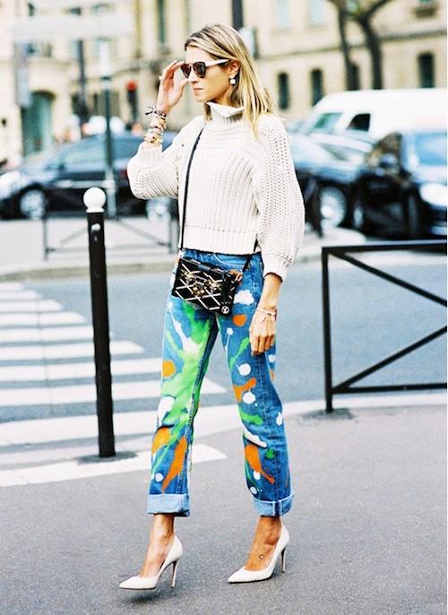 Inspiration Street Style jean original
