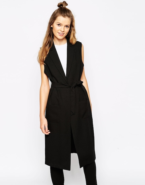 Asos - Trench sans manches