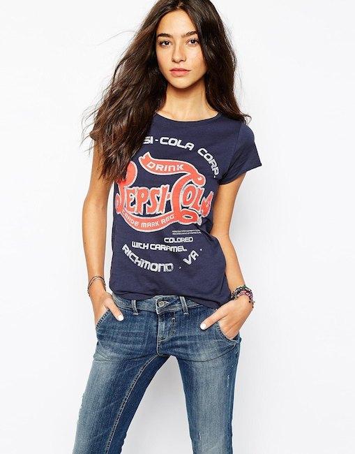 Blend - T shirt Pepsi