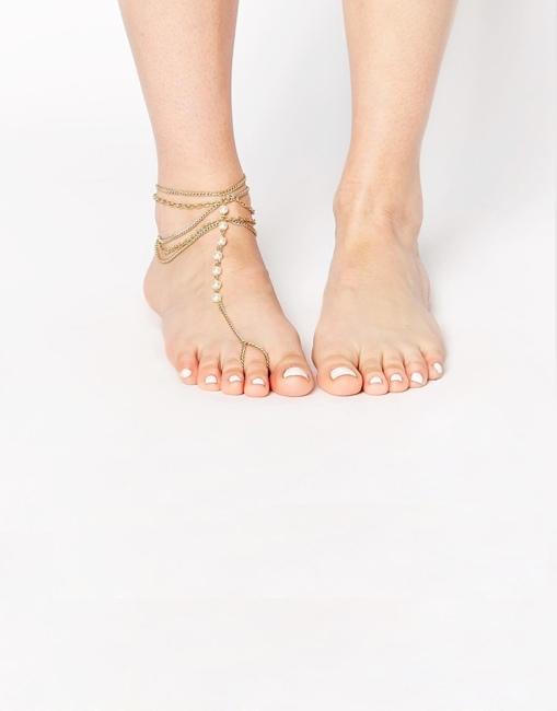 Designsix - Bijou de pied
