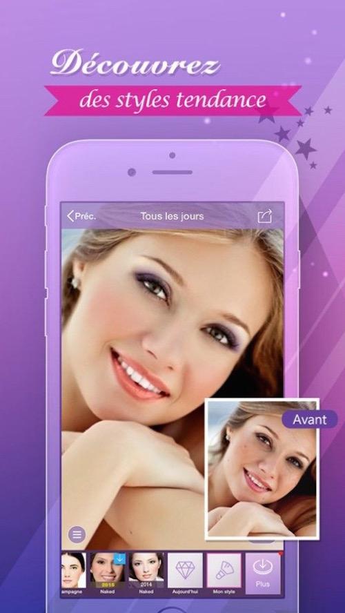 Applications : A la recherche du selfie parfait
