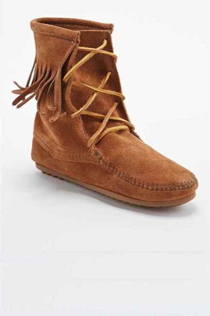 Minnetonka - Boots en daim