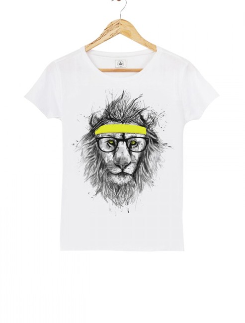 Triaaangles - T-shirt Cool Lion