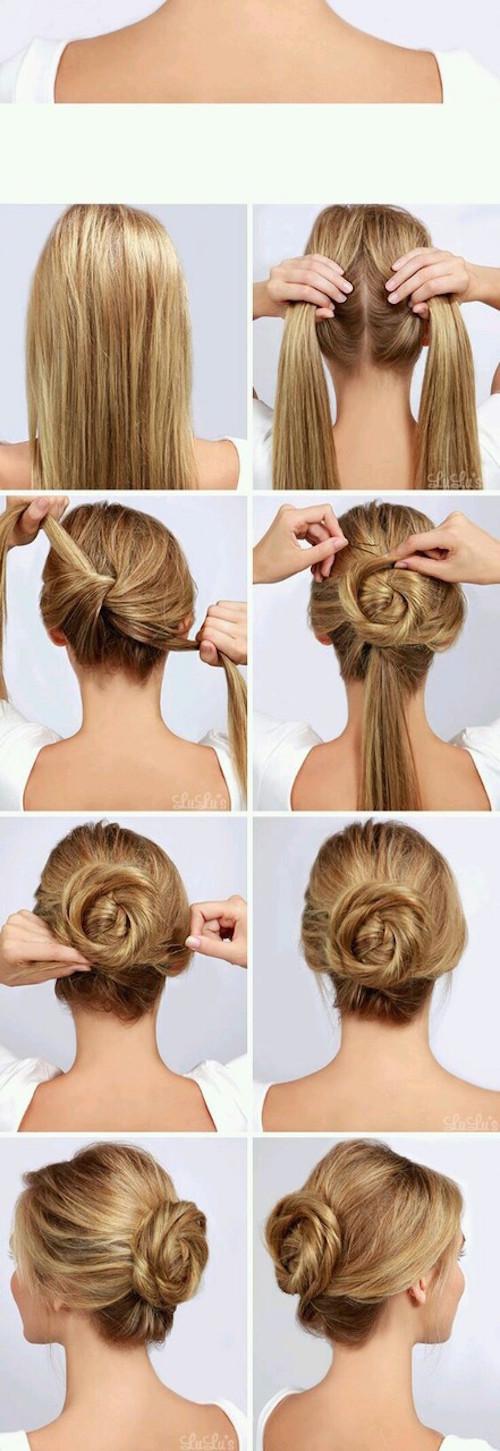 5 idées coiffures pour chaque jour de la semaine