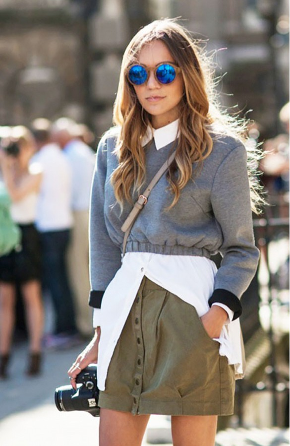 button-down streetstyle