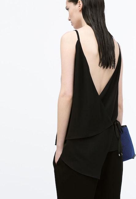 Zara - Top dos nu