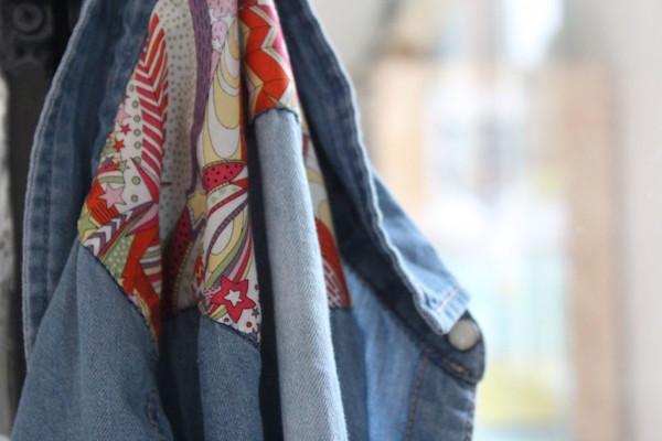DIY : Offrez une renaissance à votre chemise en jean