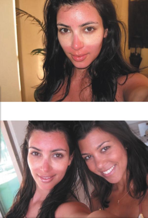 Kim Kardashian écrivain  avec Selfish