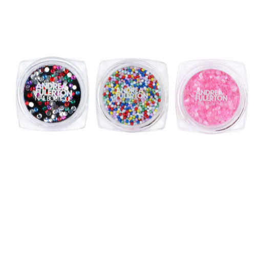 Ongles couture paillettes Andrea Fulerton