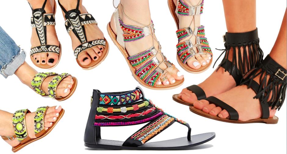 Mardi #Shoesday : 20 irrésistibles paires de sandales plates