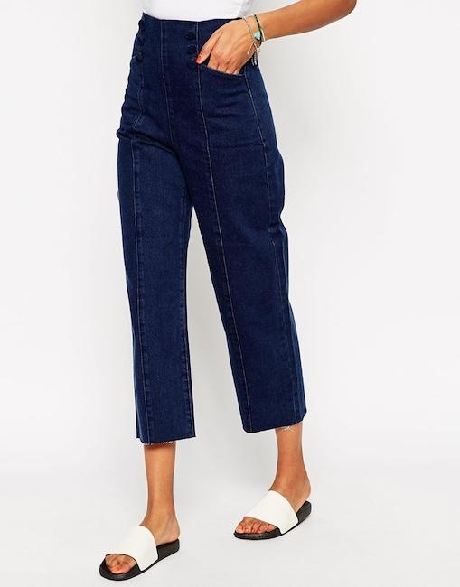 Asos - Pantalon taille haute