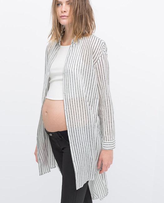 Zara - Chemise rayée
