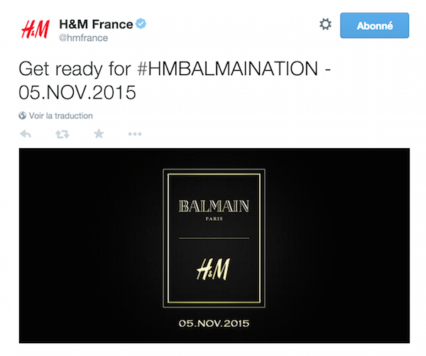 #HMBALMAINATION : La collab qu'on va s'arracher