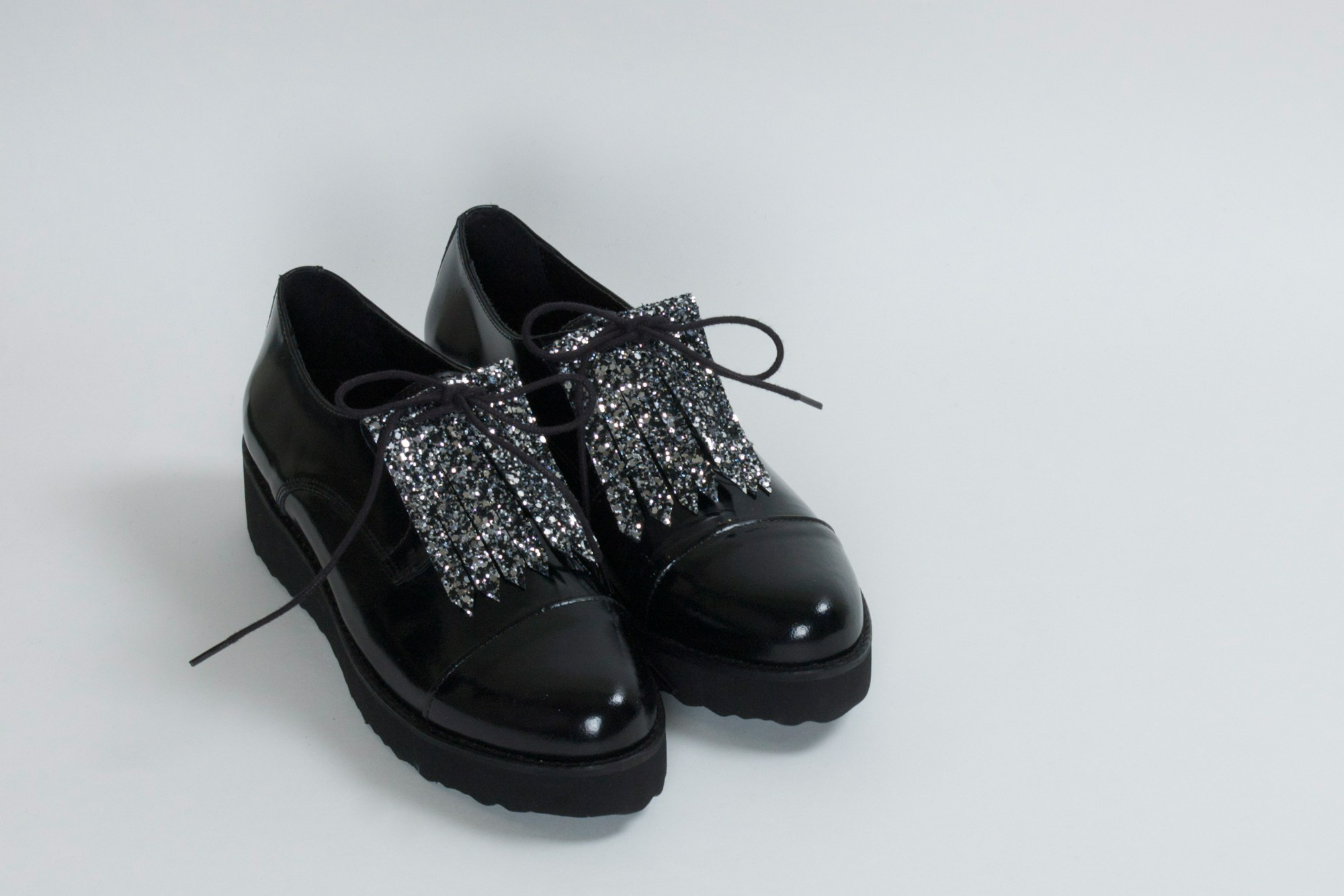 Raoulle Glitter Black