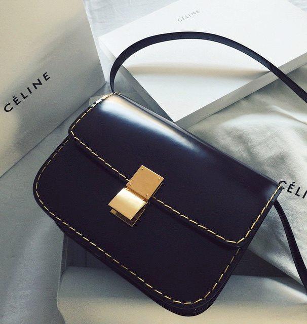 fashionista sac céline noire