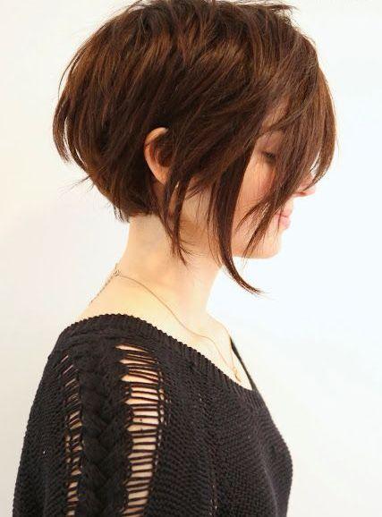 cheveux courts auburn