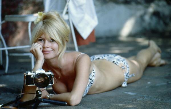 Brigitte Bardot maillot de bain