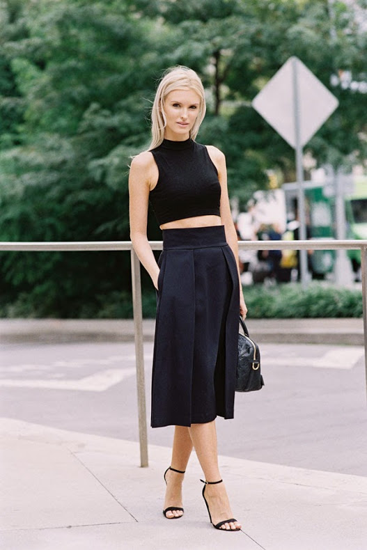 Geometric outfit Street Style