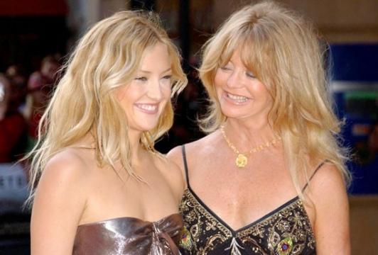 kate hudson et sa mère (Goldie Hawn)