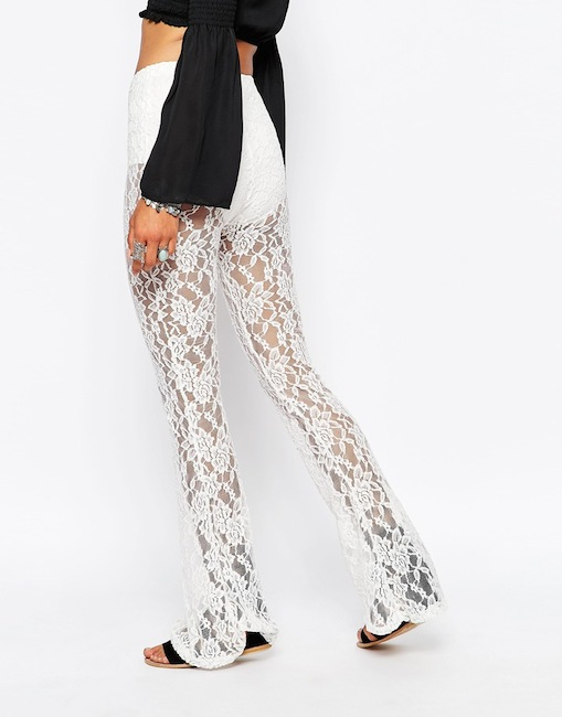 Missguided - Pantalon en dentelle