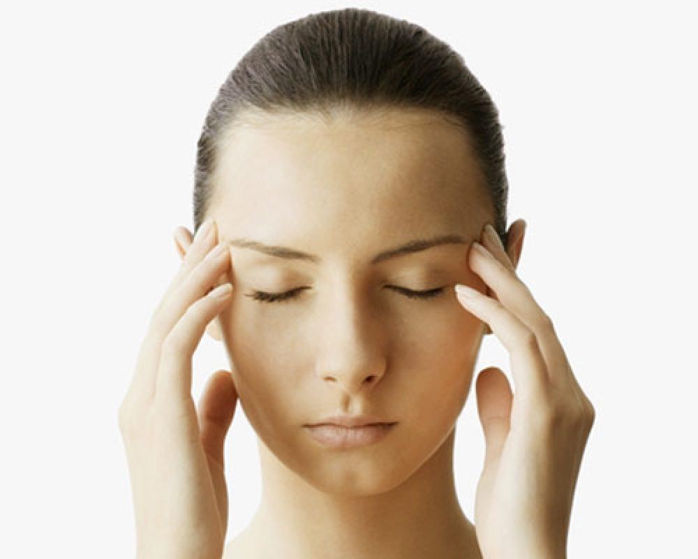 massage yeux cernes