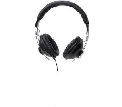 Casque audio noir Essentia
