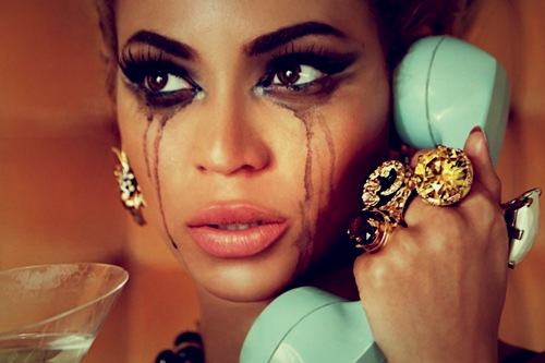 Beyoncé Mascara qui coule
