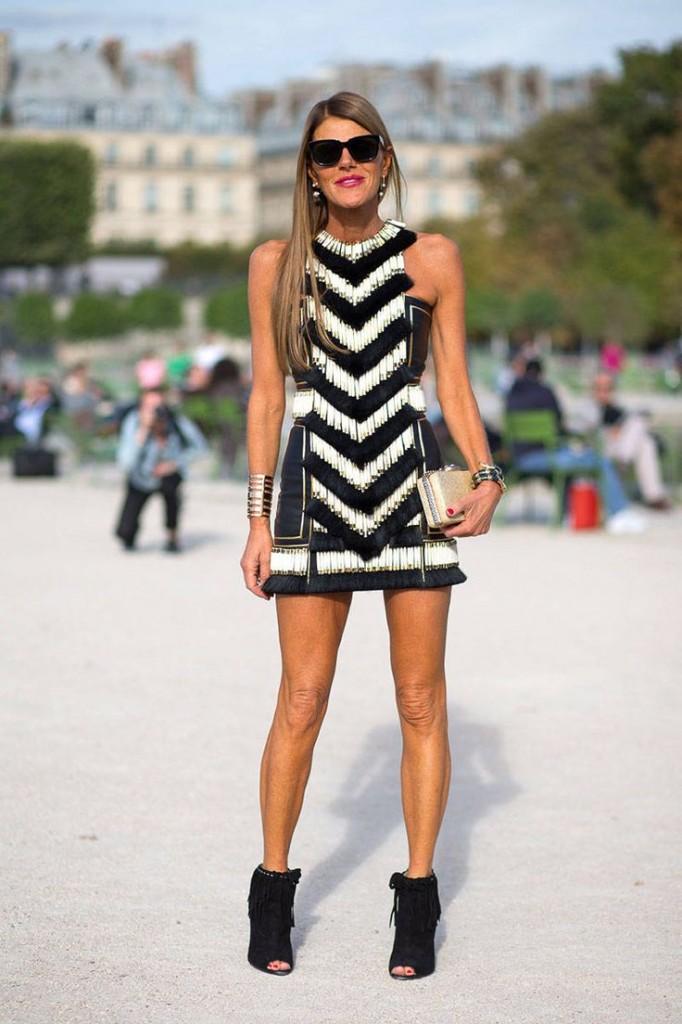 fashion week paris chaussures a franges