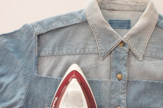 Comment customiser sa chemise en jean