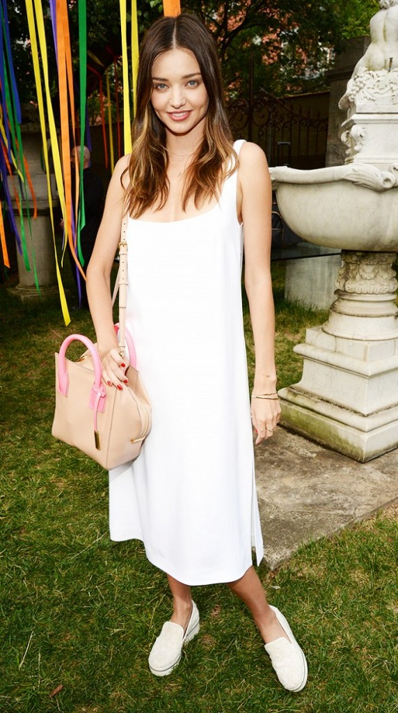 robe blanche look