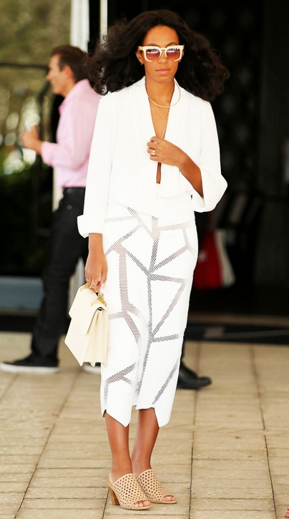 solange knowles look blanc