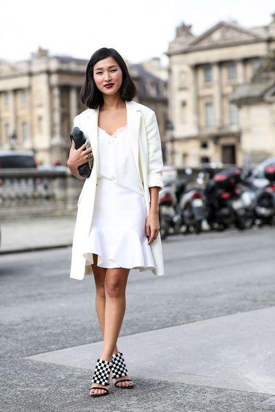 look blanc street style