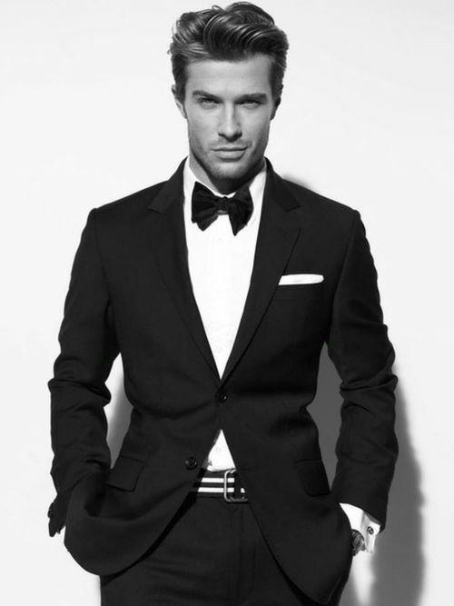 Fashionista sexy businessman