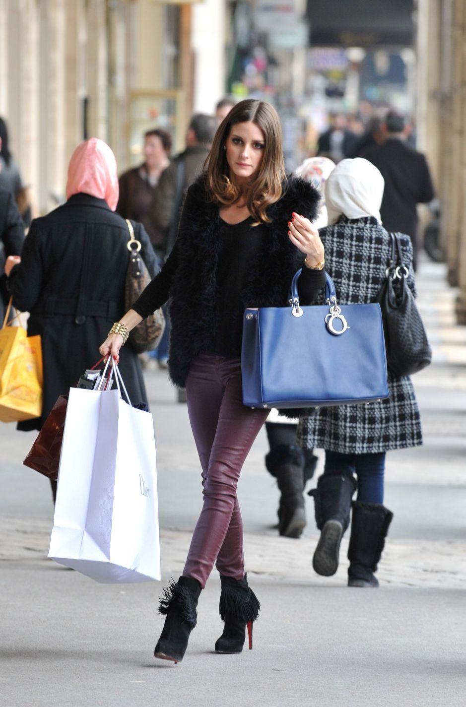 olivia palermo shopping