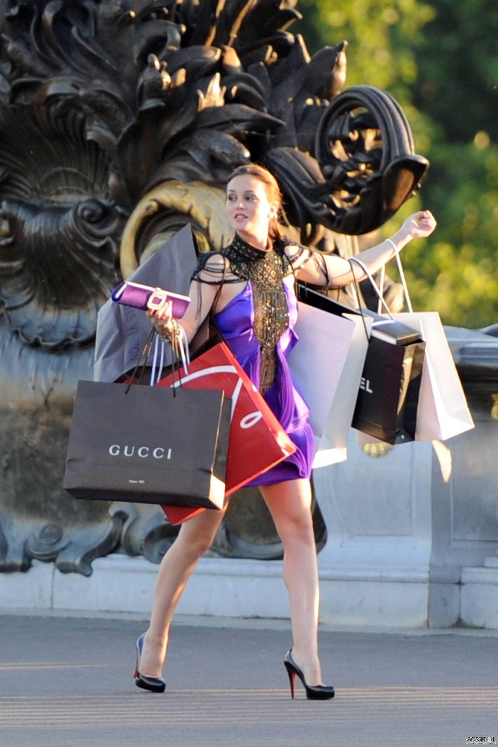 blair waldorf shopping