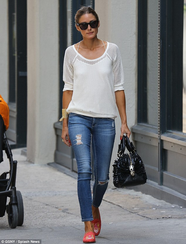 olivia palermo casual look