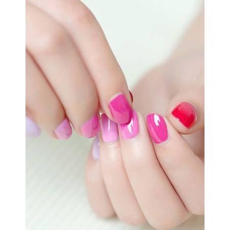 camaieu vernis rose ongles