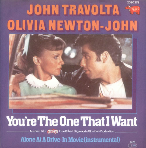 you're the only one that I want - grease