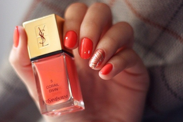 inspiration corail divin st laurent