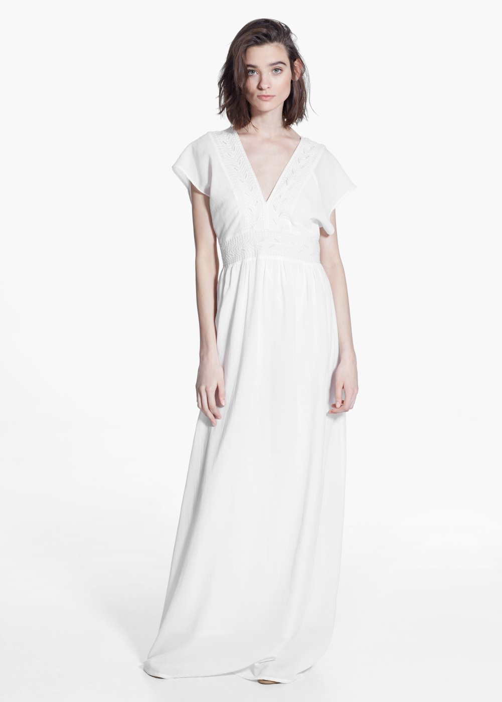 robe longue - mango
