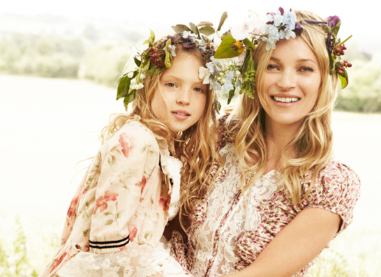 kate moss and daugther